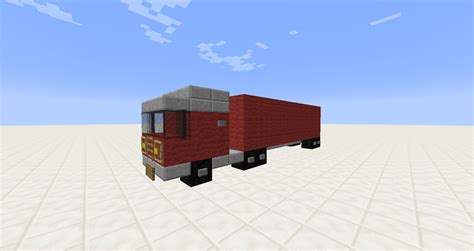 minecraft semi detail semi truck minecraft