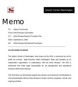 Memo Template by Professional Memo Template 10 Free Word Pdf Documents