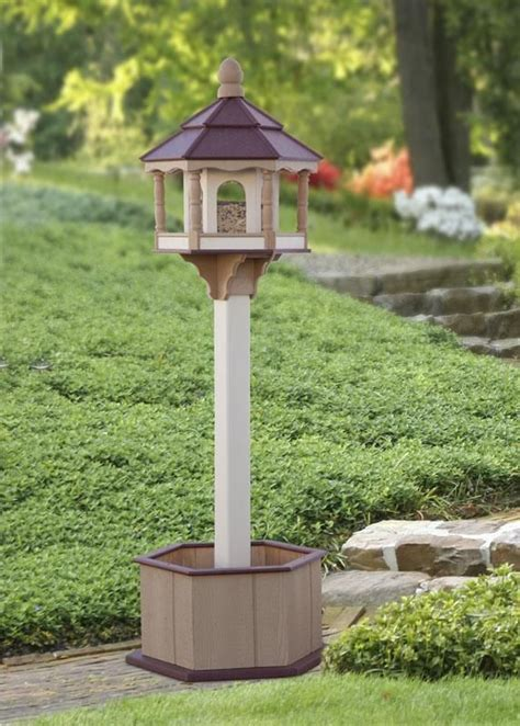 Bird Table With Planter Base by Best 25 Large Bird Feeders Ideas On Plastic