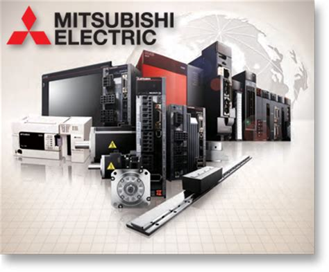 mitsubishi electric automation motors drives couplings servos gearboxes