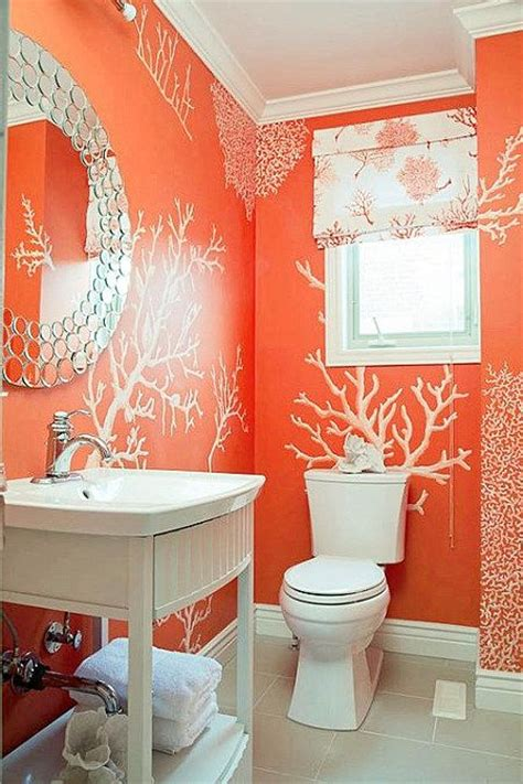 wallpaper trends for bathrooms 1000 images about oh so orange on pinterest orange