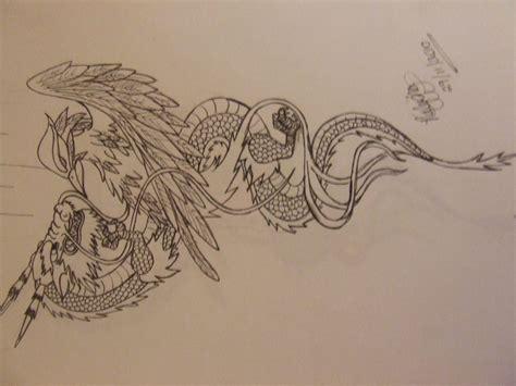 tattoo phoenix vs dragon dragon vs phoenix tattoo by qu bee on deviantart