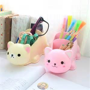 cute cartoon desk organizer desk accessories organizer