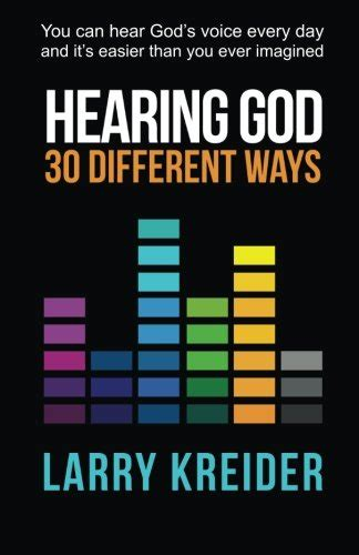 31 days of hearing god speak books biography of author larry kreider booking appearances