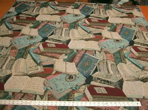 upholstery fabric sle books quot literary guild quot books tapestry upholstery fabric