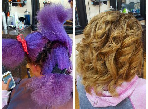 transformation tuesdays natural hair bride youtube transformation tuesday neon purple to golden blonde