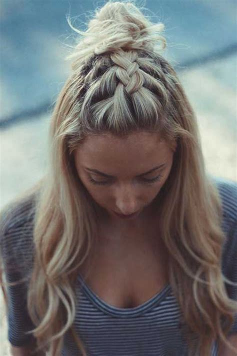 many styles of topknot best 20 half ponytail ideas on pinterest hair style