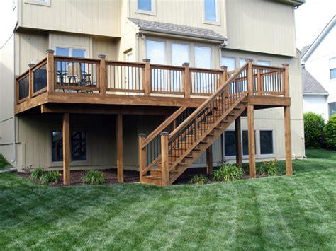 second floor deck plans steve hodes jr