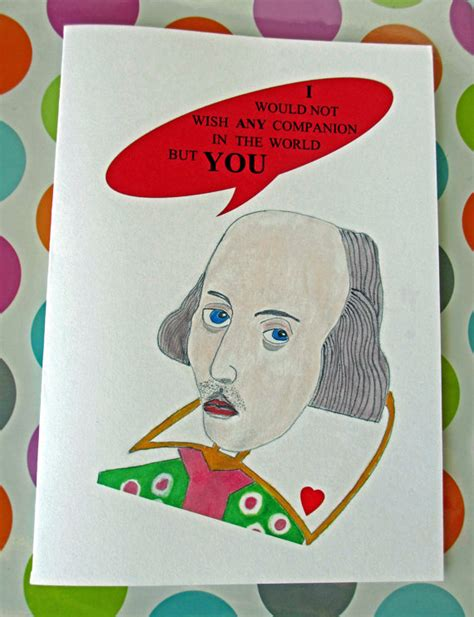 shakespeare valentines shakespeare quote literary card quote