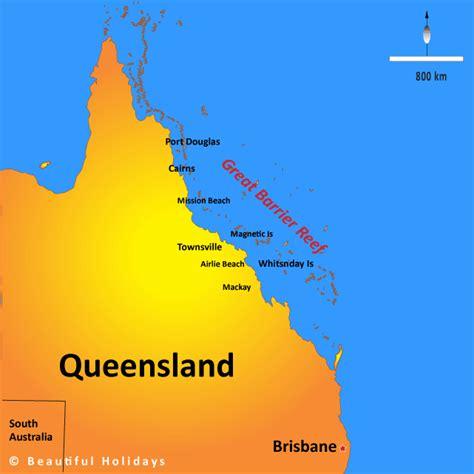 great barrier reef map great barrier reef australia map