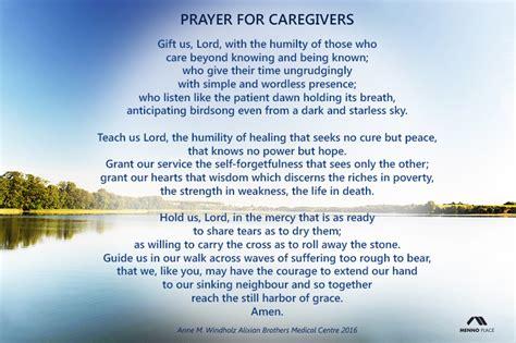 prayer  caregivers menno place