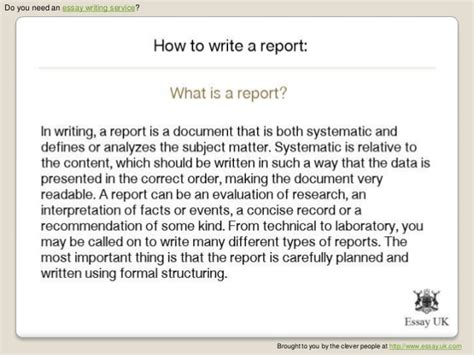 how to write a report sle how to write a report for work sle 28 images sle