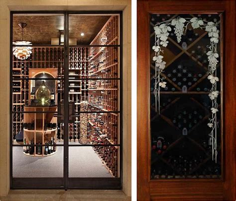 Wine Closet Doors Modern Wine Cellar Doors Www Pixshark Images Galleries With A Bite