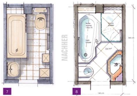 badezimmer 6 qm kleine b 228 der minib 228 der kleine badezimmer unter 4m 178