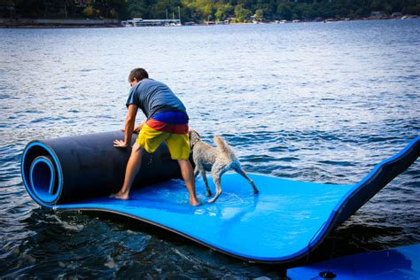 Floating Mat floating mats floating mats for lake floating water pads black blue water mat