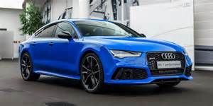 Audi Porsche Audi Rs7 In Porsche S Voodoo Blue Color