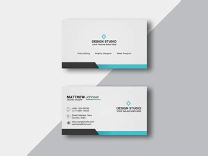free indesign business card template behance business cards on behance gallery card design and card