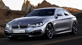 bmw 4 series coupe concept front quarter view egmcartech