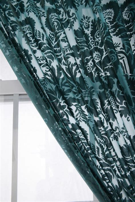 damask velvet burnout curtain i have these curtains in my bedroom in mustard they re