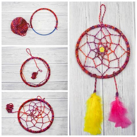 d i y diy dreamcatcher tutorial mum in the madhouse