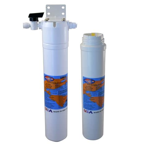 under sink water westbrass carbon block under sink water filter with 1500