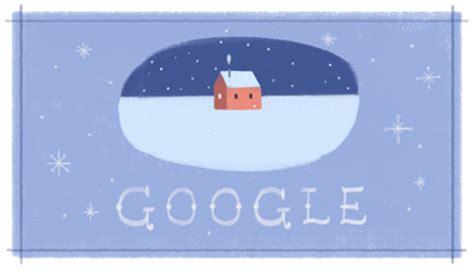 google theme yesterday google s happy holidays logo number three same theme