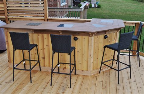 how to make an outdoor bar top 51 creative outdoor bar ideas and designs gallery gallery