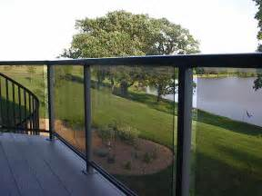 deck railing with glass panels see 100s of deck railing