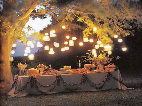 backyard dinner party ideas outdoor dinner party ideas with tree party time ideas