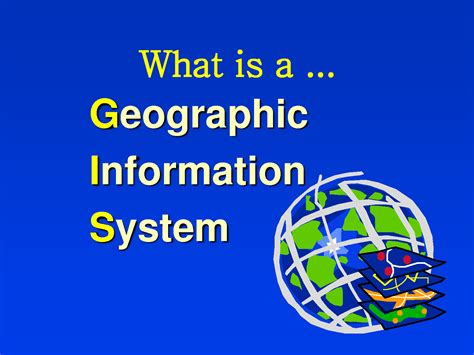 what is what is gis definition