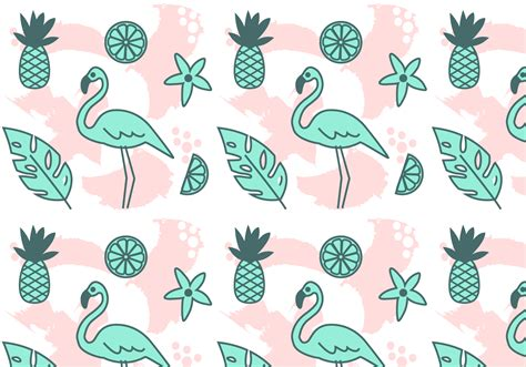 hawaiian pattern vector free free vector tropical pattern download vetores e gr 225 ficos