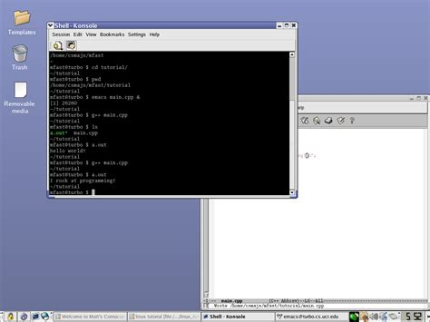 tutorial linux make linux tutorial