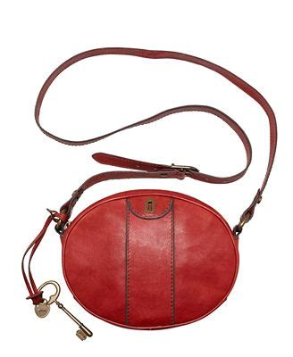 fossil cross second fossil vintage reissue leather crossbody bag handbags