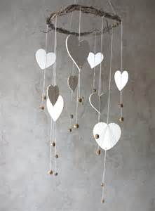 Woodland Home Decor Woodland Mobile Heart Mobile Home Decor Nursery Room