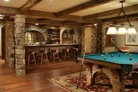 rustic basement ideas basement bar ideas rustic basement traditional with