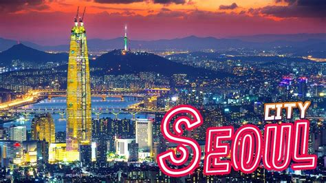 seoul city mega city timelapse youtube