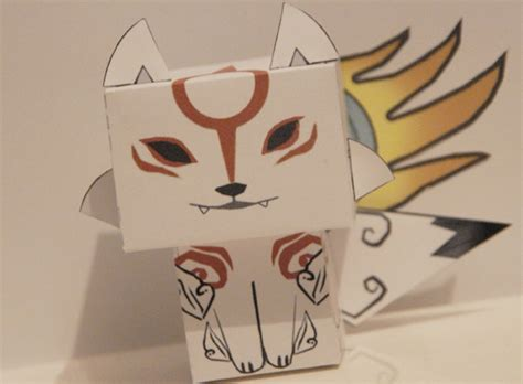 Amaterasu Papercraft - cubeecraft my papercraft part 2