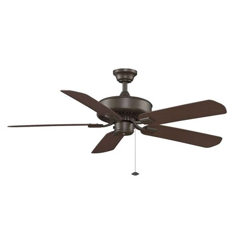Bronze Ceiling Fans With Lights Fanimation Fans Edgewood Rubbed Bronze Ceiling Fan Without Light Tf910ob Destination