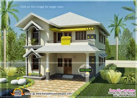 home design indian style house south indian style in 2378 square feet home kerala