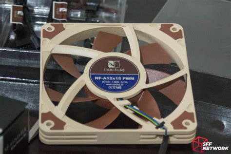 noctua 120mm slim fan noctua s slim 120mm fan at last small form factor network