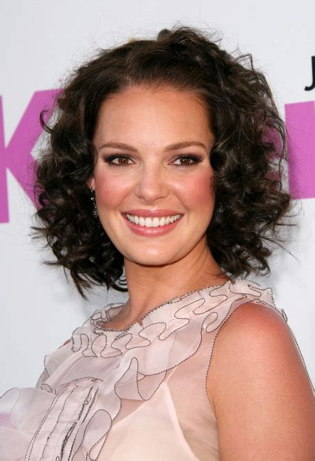 curling hair towards the face short hair styles for curly hair and round face