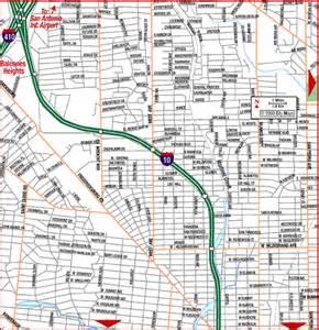 road map of san antonio northwest san antonio
