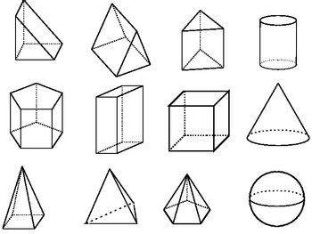Parallelgraphics Outline 3d by One Of The Teachers At My School Was Trouble Finding Some 3d Geometric Shapes To Make