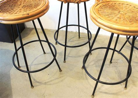 Rattan Swivel Counter Stools by Wicker Swivel Counter Stools Home Design Re Style