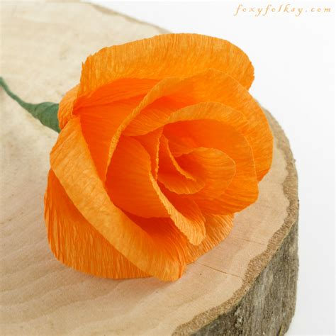 Make Crepe Paper Roses - 12 diy crepe paper flower tutorials how to make crepe