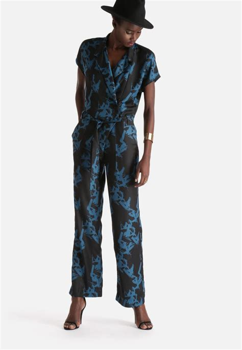 dressy jumpsuits at macys for women macy ss jumpsuit black selected femme jumpsuits