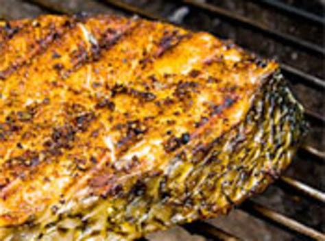 Grilled Striped Bass With Orange Saffron Butter by Grilling Recipes For Striped Bass