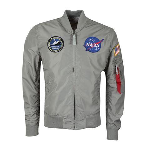 Ma 1 Nasa Bomber alpha industries ma 1 nasa reversible bomber oxygen clothing