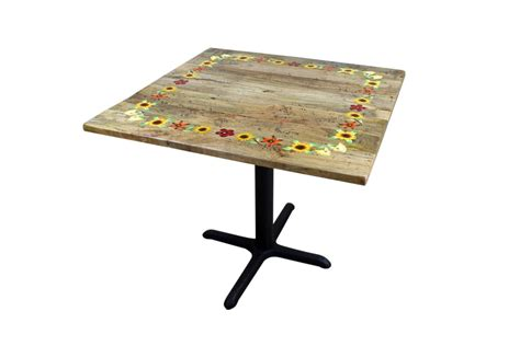 hand painted dining room tables fiesta hand painted rustic dining room table mexican