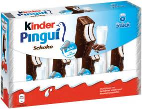 Winter Party Decoration - kinder pingui choco 8 pack